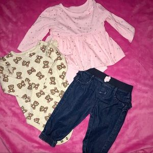 Other - 💎size 12 Months💎baby Girls Outfit  💎must bundle
